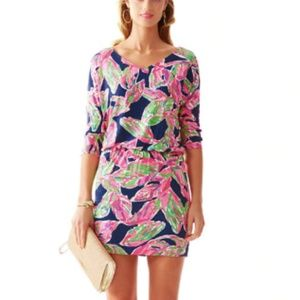 Lilly Pulitzer Cara in the Vias Dress Size S